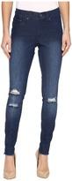 Hue Ripped Knee Denim Leggings Women's Jeans
