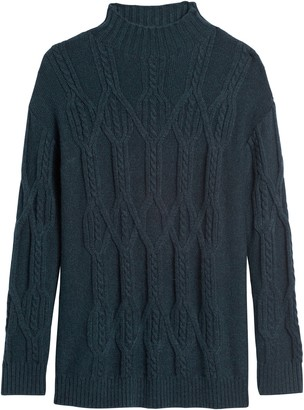 Banana Republic Cable-Knit Tunic Sweater