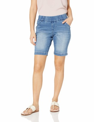 Jag Jeans Women's Petite Gracie Pull on Bermuda Short