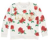 Chaser Toddler Girl's Loved Sweatshirt