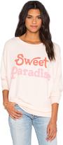 Wildfox Couture Sweet Paradise Sweatshirt