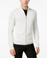 INC International Concepts Men's In the Dark Full-Zip Sweater, Only at Macy's