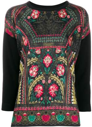 Etro all-over print jumper
