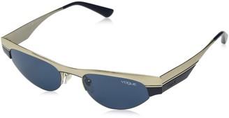 Vogue Women's VO4105S Cat Eye Metal Sunglasses