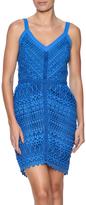 Adelyn Rae Bright Blue Lace Dress
