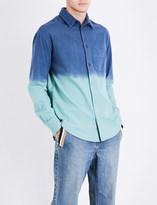 The Elder Statesman Dyed regular-fit brushed-cotton shirt