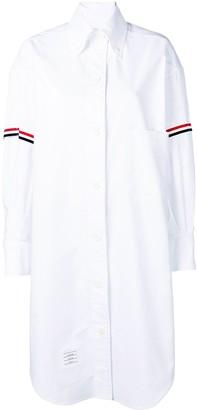 Thom Browne 200% RWB Armband Oxford Shirt