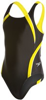 Speedo PowerFLEX Eco Taper Splice Pulse Back Youth Swimsuit 8133855