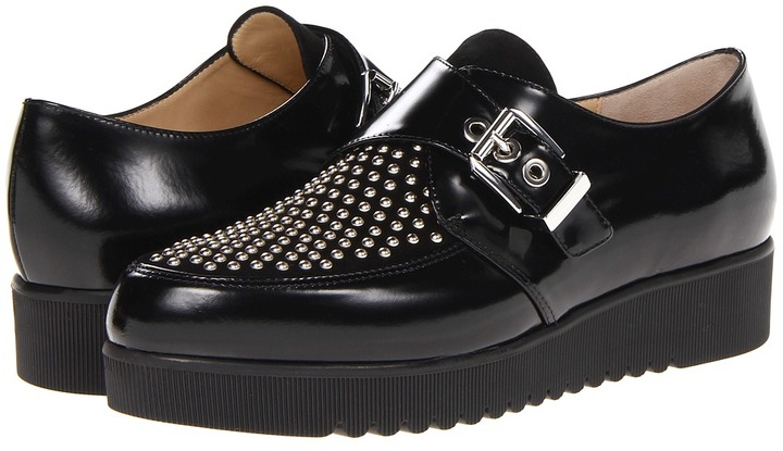 Marvin K - Purdy (Black Brushed Calf) - Footwear