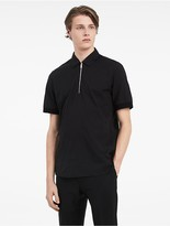 Calvin Klein Platinum Crinkle Poplin Short Sleeve Shirt