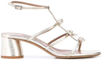 Tabitha Simmons Strappy Bow Sandals