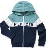 Tommy Hilfiger Colorblock Zip L/S Sweatshirt (Boys 8-14 Years)