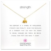 Dogeared Women's Reminder - Strength Pendant Necklace