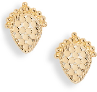 Anna Beck Scalloped Stud Earrings