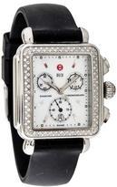 Michele Deco Chronograph Watch