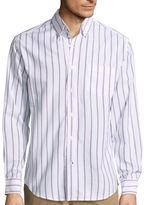 ST. JOHN'S BAY St. John's Bay Long-Sleeve Easy-Care Oxford Shirt