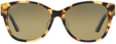 Maui Jim Olive Tokyo Tortoise & Light Green Cat-Eye Sunglasses - Women