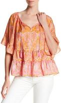 Calypso St. Barth Espazi Printed Silk Shirt