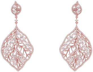 Rosegold The Enchanted Forest Earring