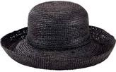 San Diego Hat Company Women's Crochet Raffia Kettle Brim Hat RHM6004