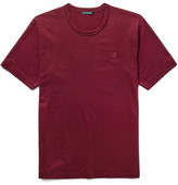 Acne Studios Nash Cotton-jersey T-shirt - Burgundy