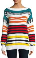 Rosie Assoulin Women's Multicolored Cotton Sweater