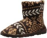 Muk Luks Women's Knit Lug Nordic Chukka Boot
