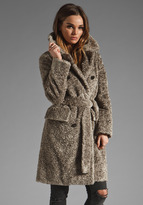 Marc by Marc Jacobs Svetlana Boucle Trench