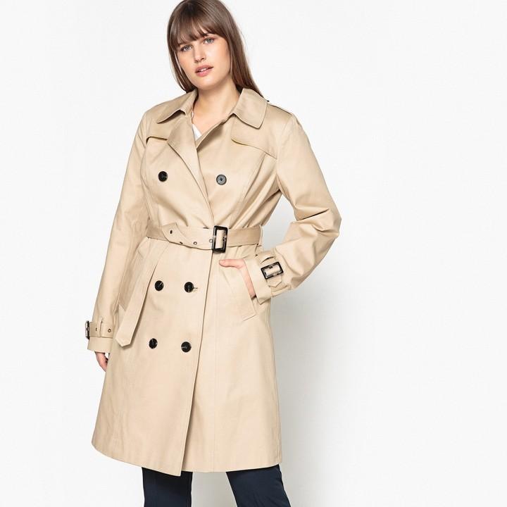 753b34bdee3 Plus Size Trench Coat - ShopStyle UK
