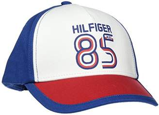 Tommy Hilfiger Tommy Baby 85 Cap, Blue (Limonges-White 902), X-Large