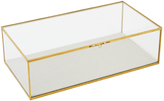 west elm Glass Shadow Rectangle Box, Large