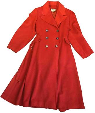 Hermes Red Cashmere Coats