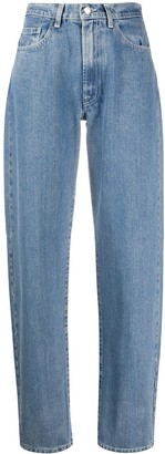 Sunnei High-Waist Straight Jeans