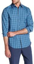 Perry Ellis Plaid Long Sleeve Regular Fit Shirt