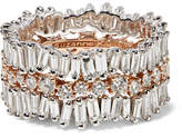 Suzanne Kalan 18-karat White And Rose Gold Diamond Ring - 7