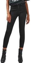 Topshop Women's Jamie Coated Skinny Jeans