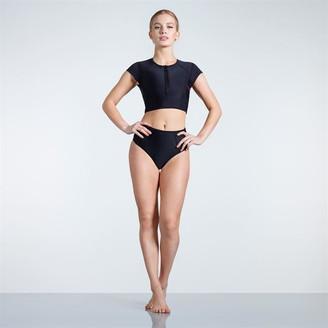 Slazenger Zip Short Sleeve Bikini Ladies