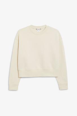 Monki Cropped sweater