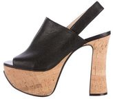 Chloé Slingback Platform Sandals