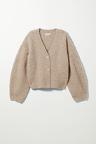Thumbnail for your product : Weekday Hillevi Cardigan - Brown