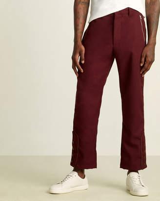 A.I.E. Maroon KZT Chino Pants
