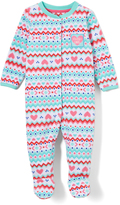 Buster Brown Clearwater & Bright White Heart 'Daddy's Girl' Footie - Infant