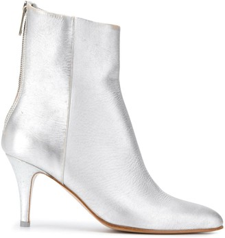 MM6 MAISON MARGIELA Pointed Leather Boots