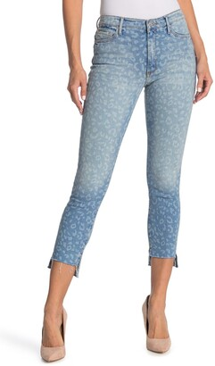 Black Orchid Miranda Off Step High Rise Skinny Jeans