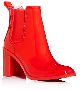 Jeffrey Campbell Women's Hurricane Square-Toe Block-Heel Chelsea Boots