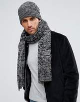 French Connection Marble Knit Scarf