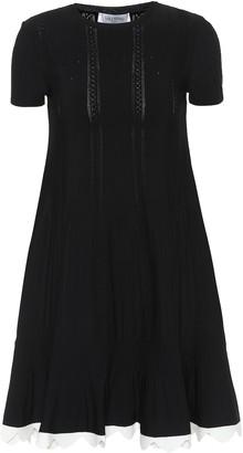 Valentino Stretch-knit minidress