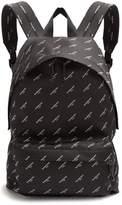 Balenciaga Logo-print Canvas Backpack