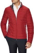 Canali Men's Woven Solid Puffer Jacket