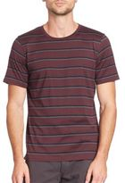 Rag & Bone K-Tricolor Striped Tee